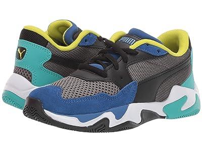 Puma Kids Storm Origin (Little Kid) (Galaxy Blue/Castlerock) Boys Shoes