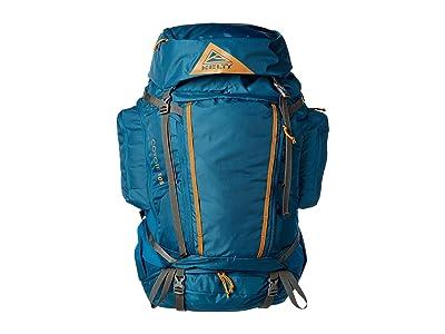 Kelty Coyote 105 (Lyons Blue/Golden Oak) Backpack Bags