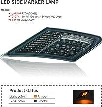 OEM SMD Led Technology ECE Side Marker Lamp For 2012-2019 TOYOTA 86 / GT86 / SUBARU BRZ/Scion FR-S (Smoke Lens With Amber Light)