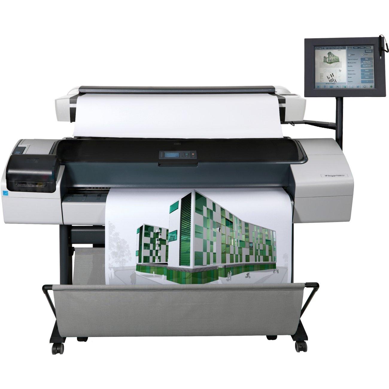 HP Impresora multifunción HP Designjet T1200 HD - Impresora de gran formato (Adobe PostScript® 3, Adobe