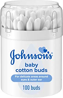 Johnson's Baby Pure Cotton Buds, 100 buds