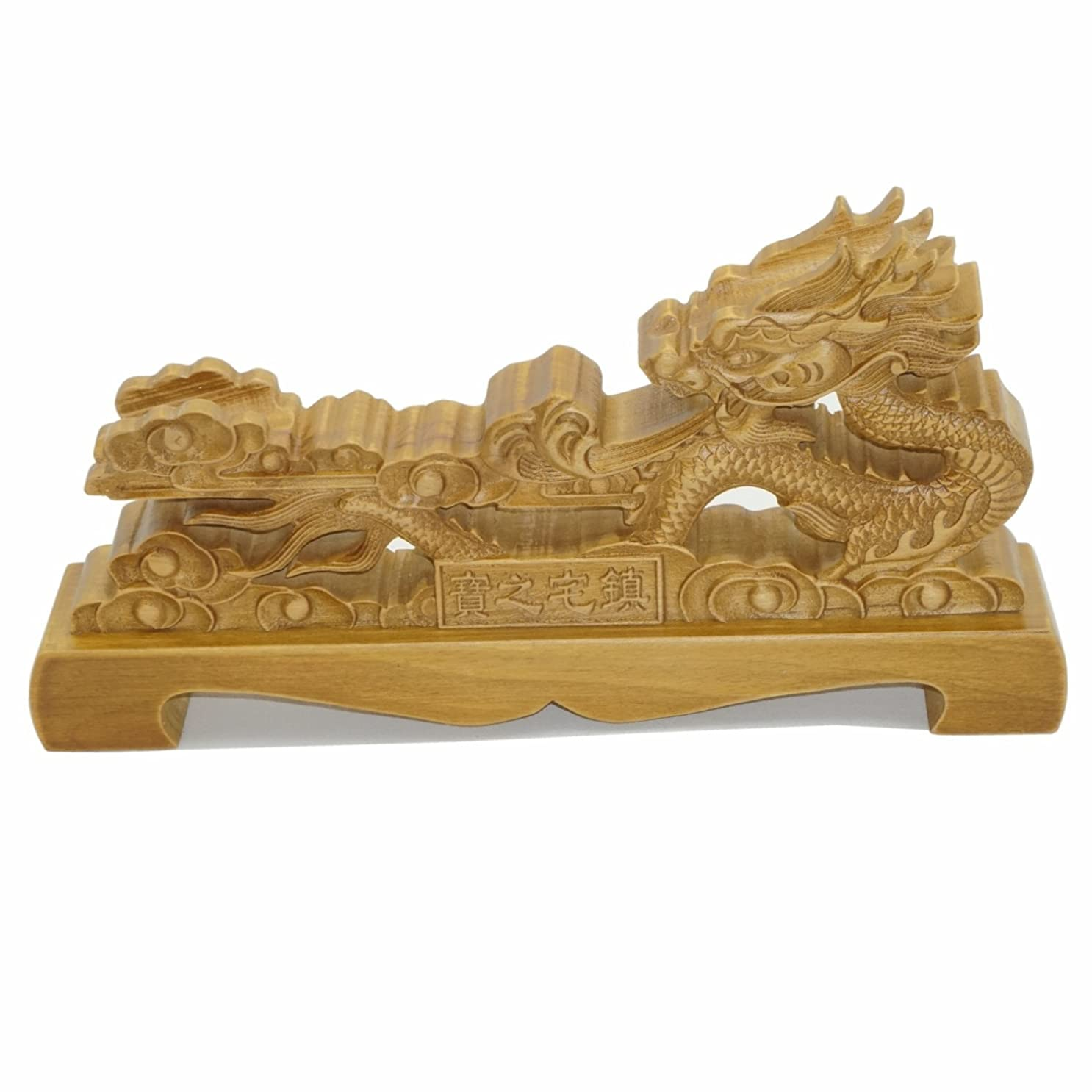 インストール説教する郵便局ドラゴン 刀掛台 木製無垢材 刀掛け 日本刀 模造刀 木刀 居合刀 刀置き 龍木彫り風