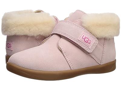 UGG Kids Nolen (Toddler/Little Kid) (Seashell Pink) Girl