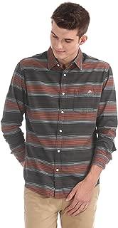 AEROPOSTALE Men's Striped Regular Fit Casual Shirt