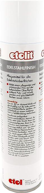 Edelstahl finish Pflegemittel Edelstahl 1 Fl zu 1 L Etolit Edelstahlfinish