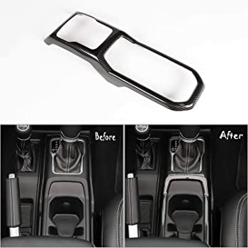NO7RUBAN Carbon Fiber Style Full Set Interior Decoration Cover Trim for Jeep Wrangler JL 2018 Gear Shift Pane Control Center Console Door Handle bowl,Center Console,Gear Shift,Air Outlet,Headlight