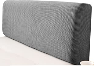Headboard Cover All Inclusive Super Soft Solid Color Bed Back Dust Protector Cover Breathable Headboard Slipcover (Color :...