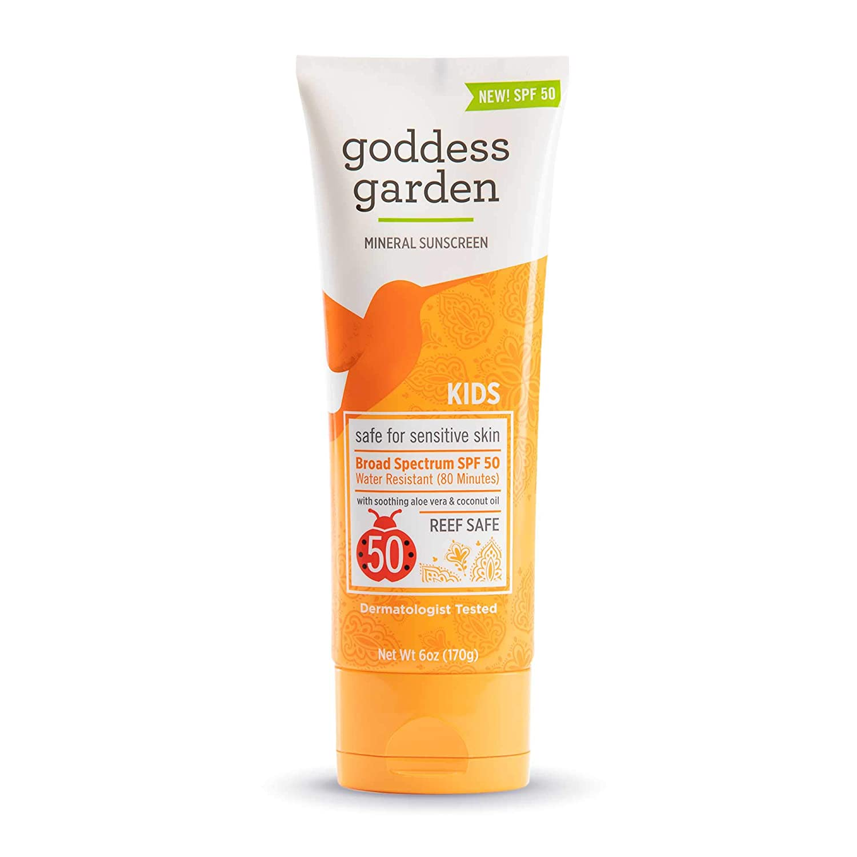 Goddess Garden - Kids supreme SPF Sensitiv Lotion Mineral Sunscreen 50 5% OFF