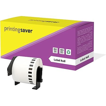 30x DK-22205 62 mm x 30.48 m Compatibili Etichette Nastri adesive continuo per Brother P-Touch QL-1110NWB QL-1100 QL-1060N QL-500 QL-500A QL-500BW QL-570 QL-580 QL-700 QL-710W QL-800 QL-810W QL-820NWB