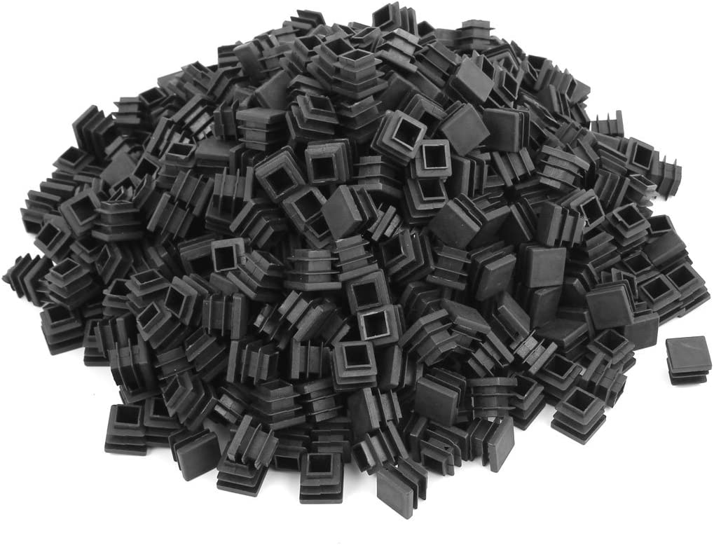 Max 52% OFF Aexit Plastic Square Furniture Hardware Inserts Tube New mail order End Pipe Bl