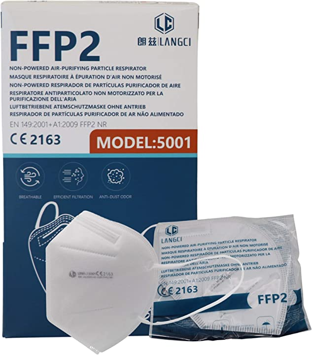 50 mascherine ffp2 certificate ce sigillate singolarmente  mascherine italiane store AC845266