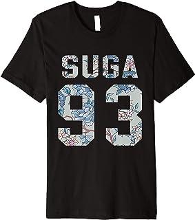 تی شرت رسمی BTS Suga 93 Kpop Bangtan Boys Merchandise BTS11FLR Premium