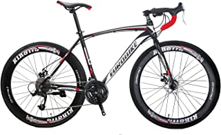 ロードバイク 550 700C変速27速 破れた風の車輪 碟刹自転車 黑/白