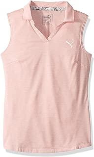 PUMA Golf Girls 2019 Heather Polo 衫