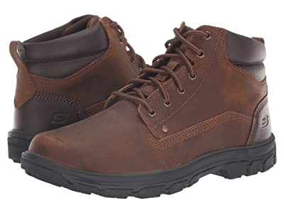 SKECHERS Relaxed Fit Segment Garnet (Dark Brown) Men