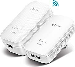 TP-Link AV2000 TL-WPA9610 Kit - Extensor de línea de alimentación (AC1200 Mbps de Doble Banda WiFi, AV2000 Mbps de línea de alimentación, 4 Puertos Gigabit, Wi-Fi Clone)