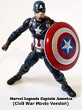 Clip: Marvel Legends Captain America (Civil War Movie Version)