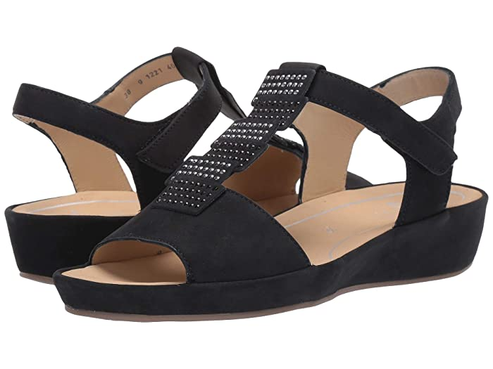 ara  Chrissy (Blue Nubuck) Womens Sandals
