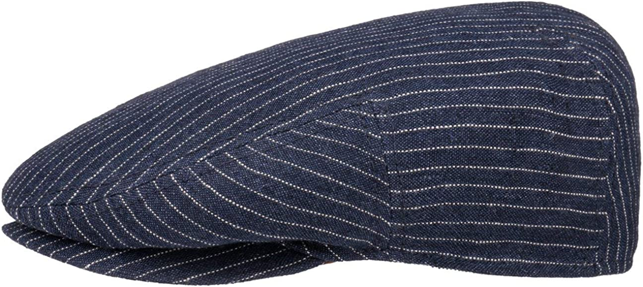 Stetson Kent Peteson Chicago Indefinitely Mall Stripes Flat Cap Men - Germany in Made