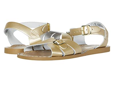 Salt Water Sandal by Hoy Shoes Classic (Big Kid/Adult) (Gold) Girls Shoes