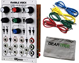 LZX Marble Index 16hp Advanced Alpha Compositor Video Synth Module Eurorack w/C