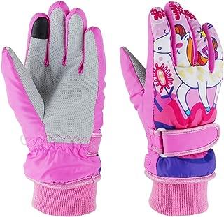 Toddler Women Mens Snow Gloves Kids Waterproof Winter...