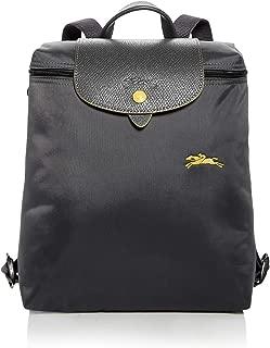 Longchamp Le Pliage Club Nylon Backpack (Gun Metal)