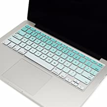 TOP CASE - Faded Ombre Series Keyboard Cover Skin Compatible with MacBook 13