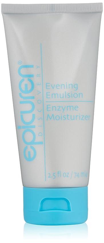 Epicuren Evening Emulsion Enzyme Moisturizer - For Dry & Normal Skin Types 74ml/2.5oz並行輸入品