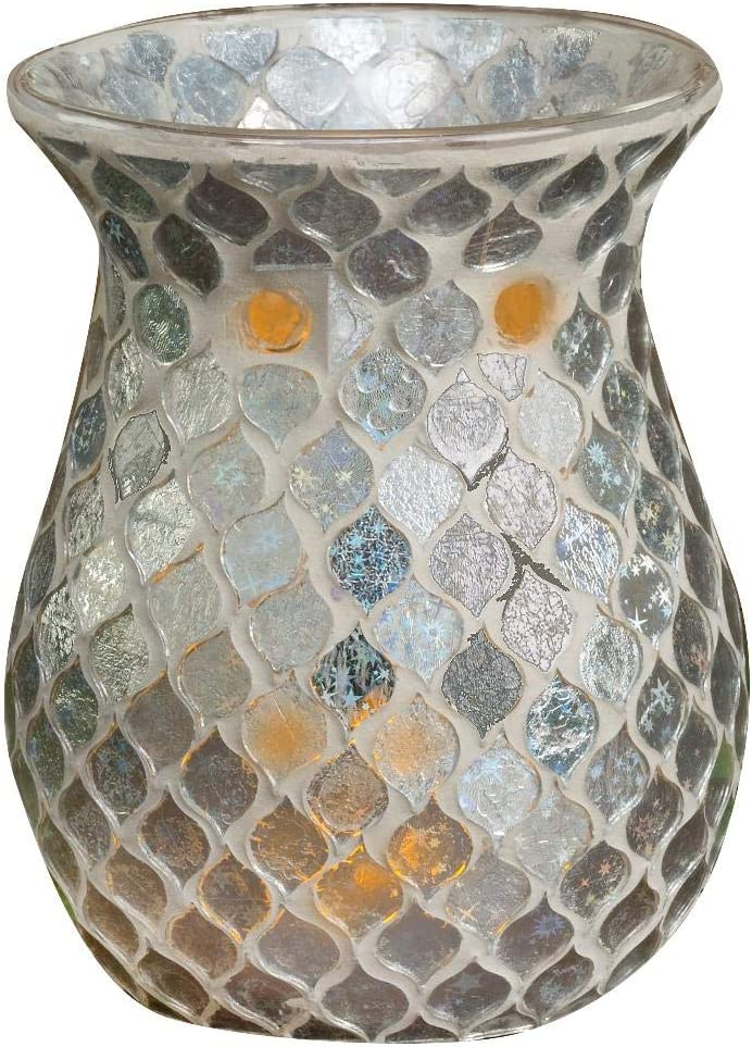 Biedermann Sons Decorative Glass Wax Save money Holder 4.3 Candle Warmer Challenge the lowest price of Japan ☆