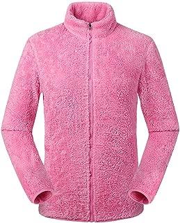 iTLOTL Couples Autumn Winter Outdoor Thickening Zipper Fleece Stand Collar Sport Coat