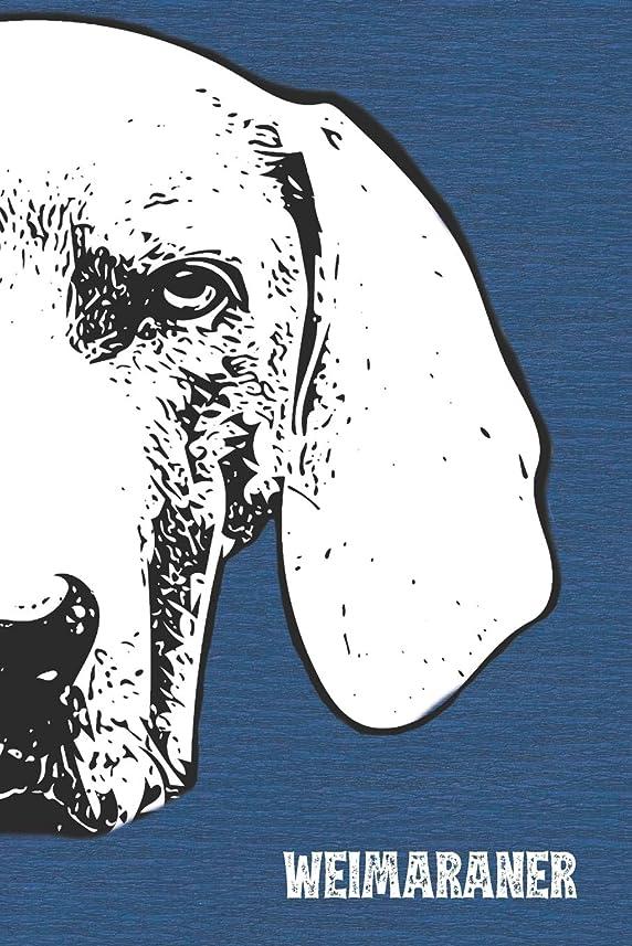 取り付け違反群れWeimaraner Lined Notebook: An Elegant Lined Journal For Weim Owners (Pedigree Prints Dog Journals and Notebooks)