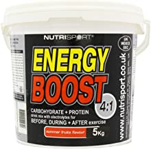 Nutrisport Energy Boost 4 1 Summer Fruits Powder 5Kg Estimated Price : £ 24,95