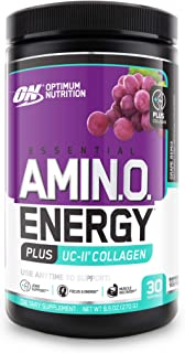 Sponsored Ad - Optimum Nutrition Amino Energy + Collagen Powder - Pre Workout, Post Workout Muscle Recovery Energy Powder ...