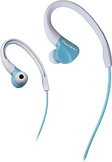 Pionner E3 In-Ear Sport hörlurar (IPX2 stänkskyddad, over-the-Ear design hörlurar, trasselfri kabel (1,2 m) med 3,5 mm kon...