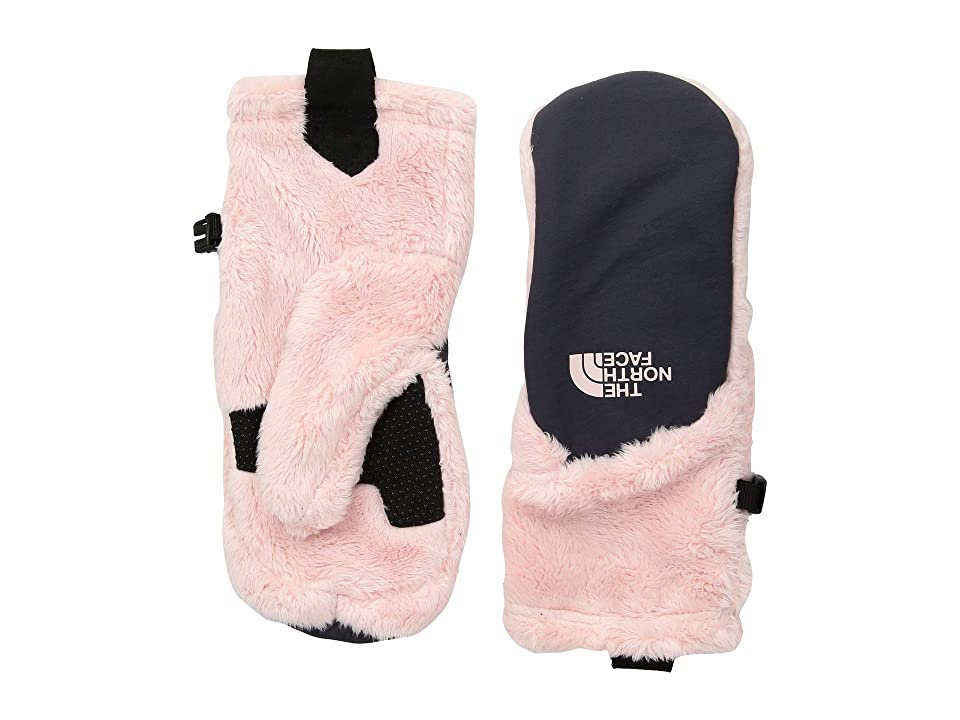 The North Face Kids Osito Etiptm Mitt (Big Kids) (Purdy Pink/Periscope Grey) Extreme Cold Weather Gloves