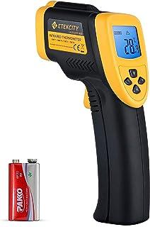 Etekcity Digital laser infraröd termometer IR pyrometer kontaktlös temperaturmätare temperaturmätare, -50 till 750 °C, LC...