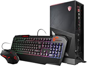 MSI Trident 3 8RC-004US Enthusiast Gaming Desktop GTX 1060 3G i7-8700 8GB 1TB HDD Win 10 VR Ready + KB and Mouse