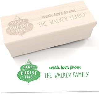 Best custom christmas stamps Reviews