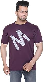 Men Printed Round Neck Half Sleeve T-Shirt