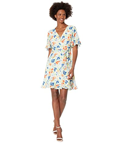 LAUREN Ralph Lauren Floral Crepe Dress Women