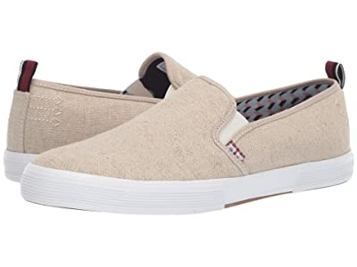 Ben Sherman Bradford Slip-On (Natural Canvas) Men