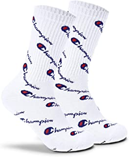 Champion LIFE Men's All Over Print Crew Sock