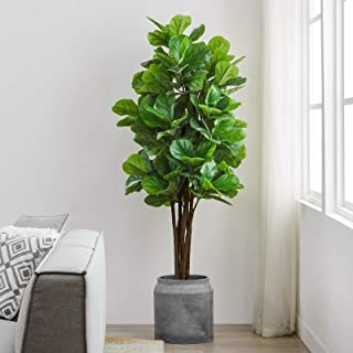 Artificial Trees Planter Artificial Trees Artificial Plants Flowers Home Kitchen