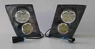 CPW (tm) Volvo Vn Vnl 630 670 730 780 PAIR LED LIGHT DRIVING LAMPS BUMPER NEW