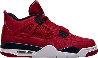 Air Jordan 4 Retro Se Mens Sneakers CI1184-617, Gym Red/Obsidian-White-Metallic Gold, Size US 11.5