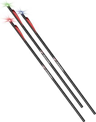 "Barnett Archery Headhunter Strobe 20"" Lighted Crossbow Arrows"