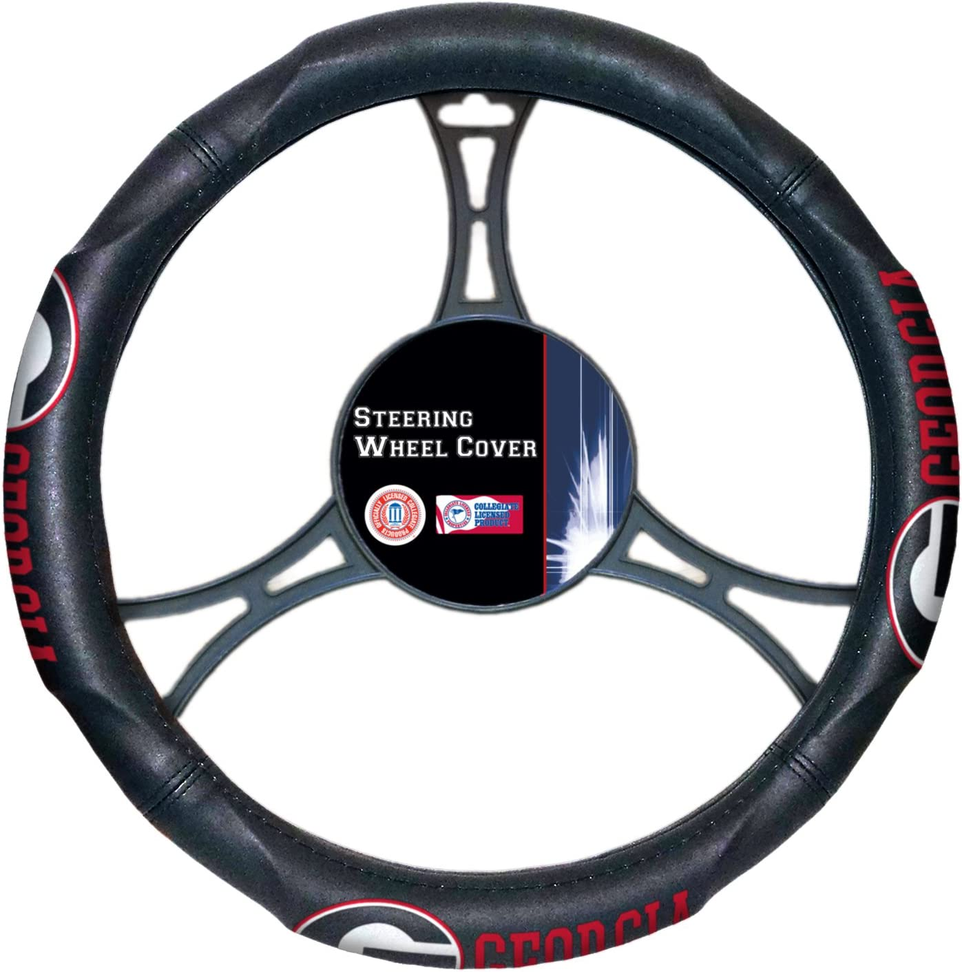 Officially Licensed NCAA Arkansas Razorbacks Steering Wheel Cover