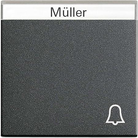 Gira Wippe Symbol Klingel mit Beschr.Feld TX44 067366