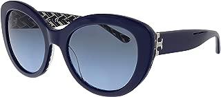 Kính mắt nữ cao cấp – Sunglasses Tory Burch TY 7121 17508F NAVY/T PATTERN